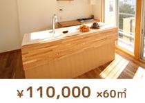 ¥110,000 × 60㎡