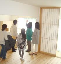 西三田団地 団地リノベーション完成現場見学会の写真です。