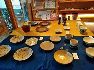 陶芸作品展開催